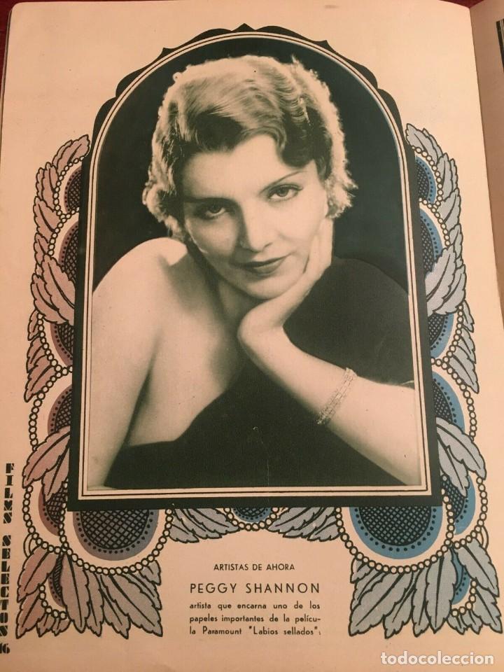 Cine: REVISTA FILM SELECTOS 1933 Elissa Landi Joan Crawford Peggy Shannon Cary Grant Marie Prevost - Foto 3 - 245606200