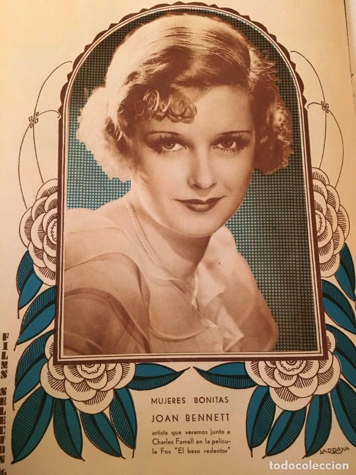 Cine: REVISTA FILM SELECTOS Sari Maritza Joan Crawford Joan Bennett Richard Tauber Raquel Meller - Foto 4 - 245606475