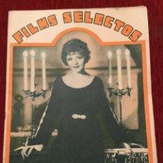 Cine: REVISTA FILM SELECTOS 1933 NANCY CARROLL JOAN CRAWFORD MARIAN MARSH THELMA TODD. Lote 245606905
