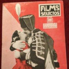 Cine: REVISTA FILM SELECTOS JOAN CRAWFORD RAQUEL MELLER GEORGES PÉCLET LIL DAGOVER DORIS DAWSON. Lote 245607110