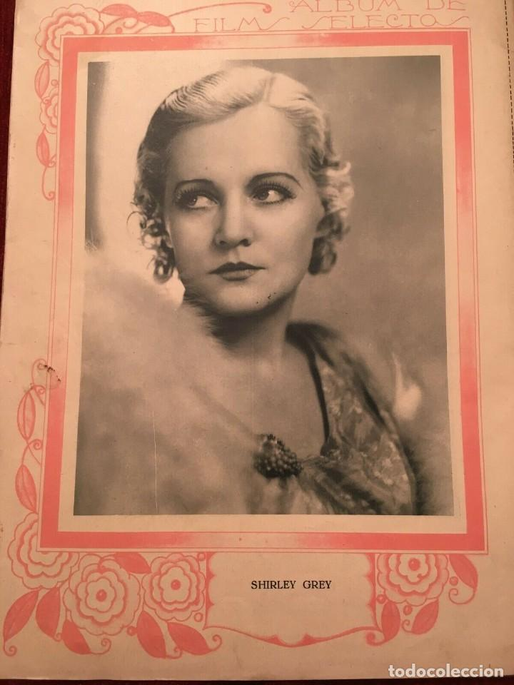 Cine: REVISTA FILM SELECTOS Norma Shearer Joan Crawford Hugh Huatley Shirley Grey Elmer Goodfellow - Foto 4 - 245607670