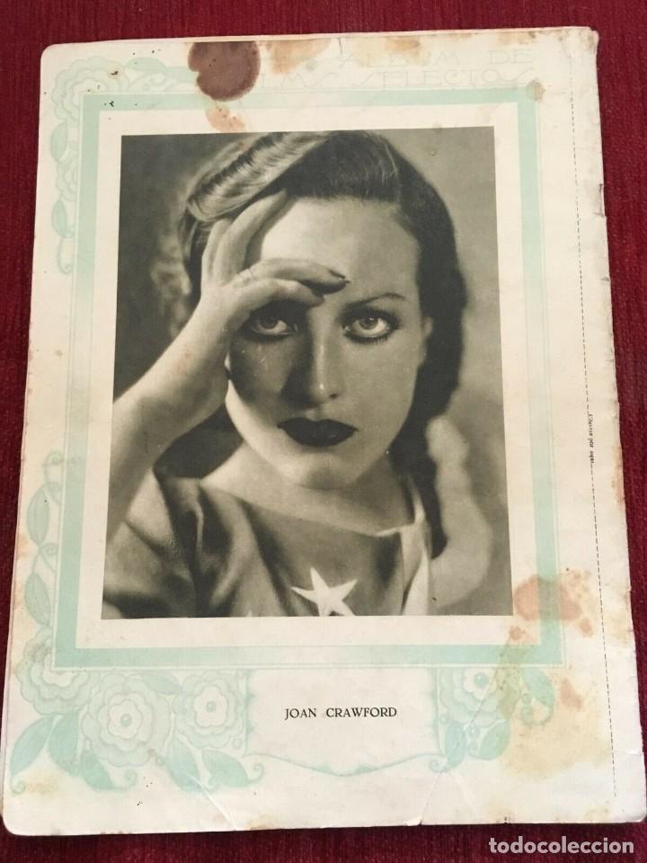 Cine: REVISTA FILM SELECTOS 1930 Joan Crawford Gloria Swanson Wally Albright Antonio Moreno - Foto 2 - 245608450