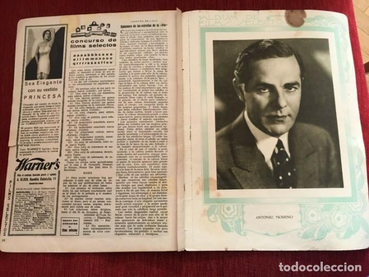 Cine: REVISTA FILM SELECTOS 1930 Joan Crawford Gloria Swanson Wally Albright Antonio Moreno - Foto 3 - 245608450