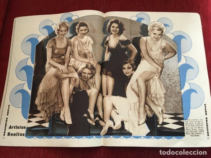 Cine: REVISTA FILM SELECTOS 1931 Joan Crawford Montana Moon Frances Dee Jose Mojica Imperio Argentina - Foto 3 - 245609165