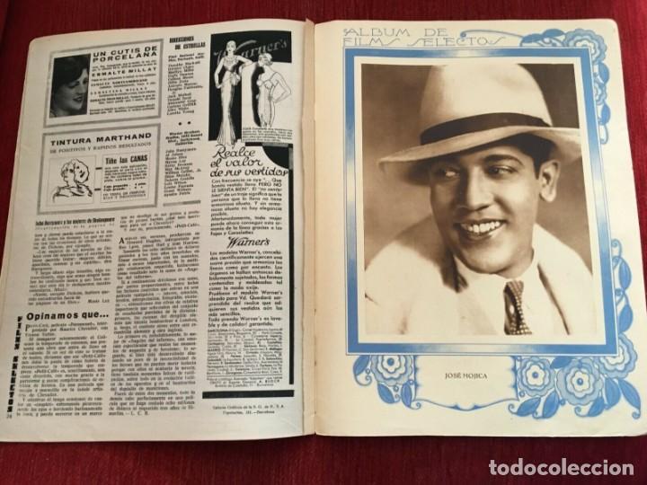 Cine: REVISTA FILM SELECTOS 1931 Joan Crawford Montana Moon Frances Dee Jose Mojica Imperio Argentina - Foto 4 - 245609165
