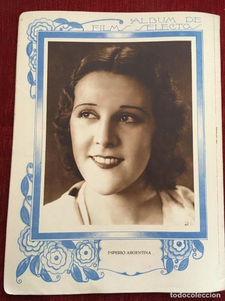Cine: REVISTA FILM SELECTOS 1931 Joan Crawford Montana Moon Frances Dee Jose Mojica Imperio Argentina - Foto 5 - 245609165