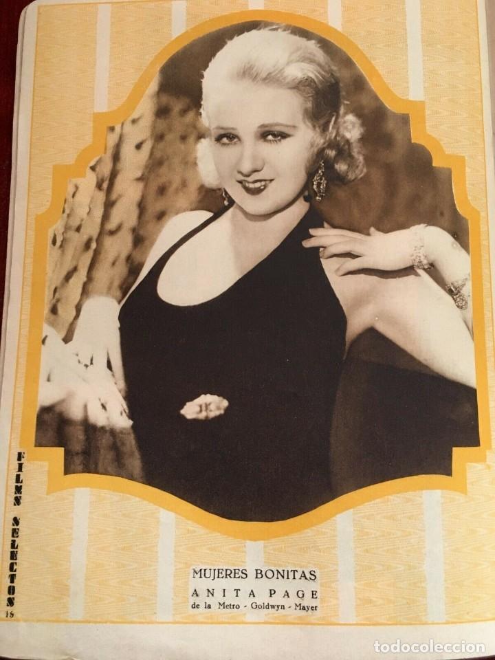 Cine: REVISTA FILM SELECTOS Rosalia Roy Joan Crawford Dorothy Jordan Anita Page Wynne Gibson A.Gray - Foto 5 - 245609715