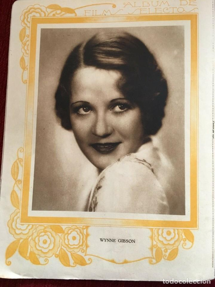 Cine: REVISTA FILM SELECTOS Rosalia Roy Joan Crawford Dorothy Jordan Anita Page Wynne Gibson A.Gray - Foto 7 - 245609715
