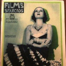 Cine: REVISTA FILM SELECTOS 1932 JOAN CRAWFORD FRANCESCA BERTINI DOLLY HAAS CORDY MILLOWITSCH. Lote 245609935