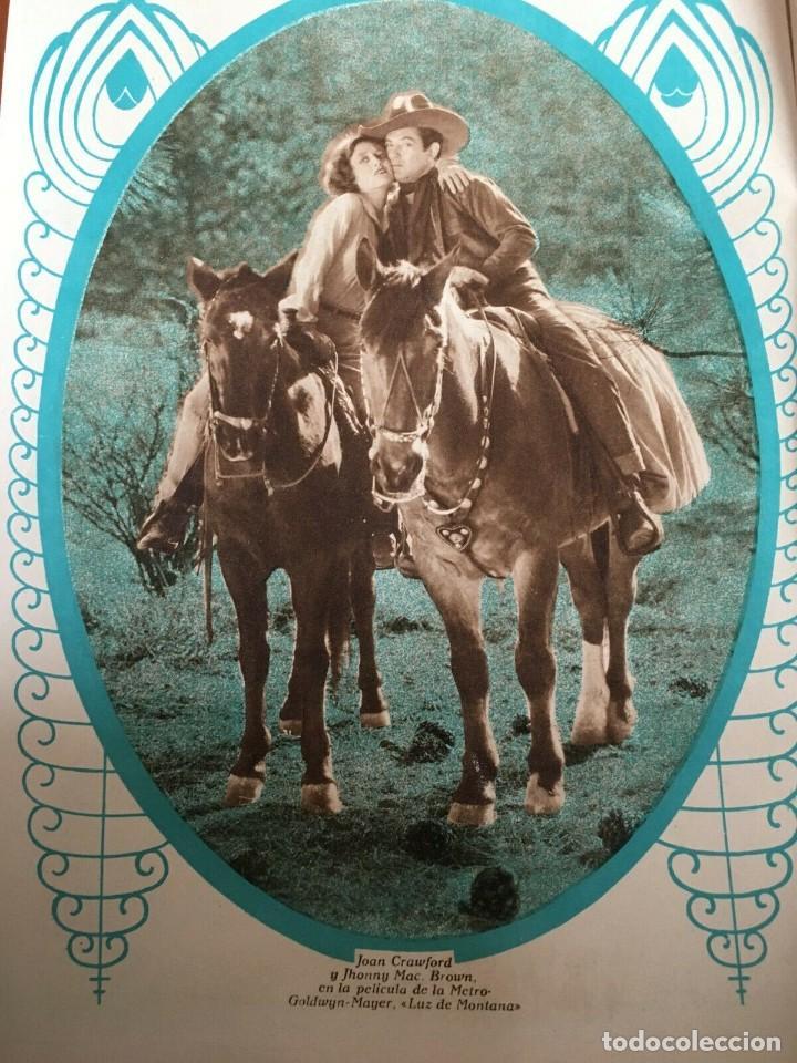 Cine: REVISTA FILM SELECTOS Joan Crawford Montana Moon Clara Bow Joan Bennet Sally Eilers R. Ames - Foto 2 - 245610120
