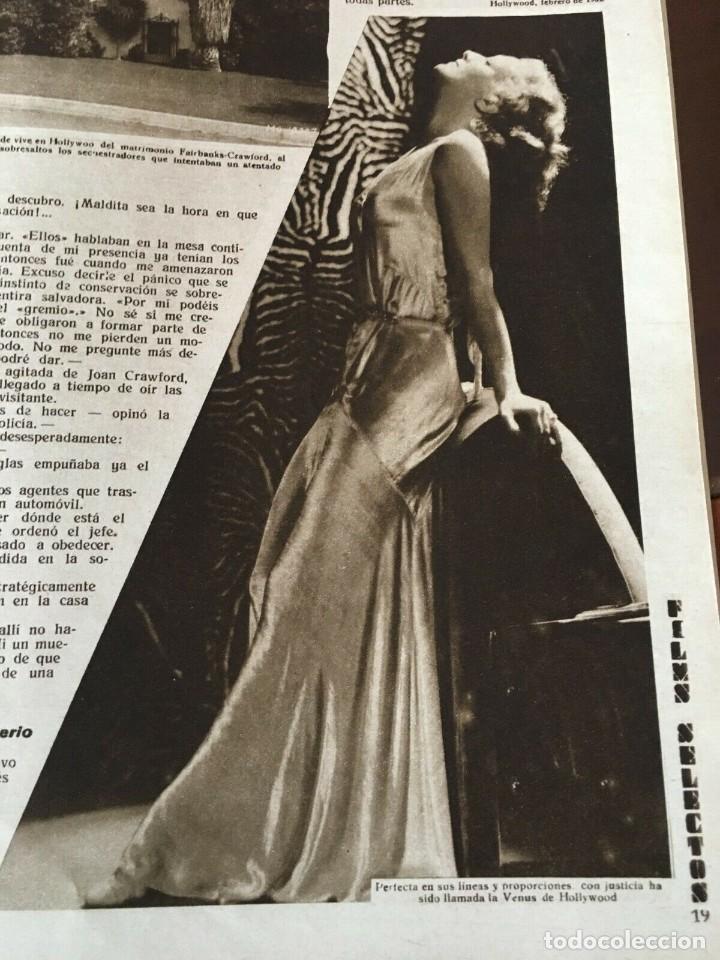 Cine: REVISTA FILM SELECTOS Joan Crawford Montana Moon Clara Bow Joan Bennet Sally Eilers R. Ames - Foto 5 - 245610120