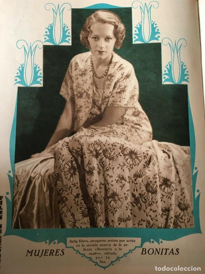 Cine: REVISTA FILM SELECTOS Joan Crawford Montana Moon Clara Bow Joan Bennet Sally Eilers R. Ames - Foto 7 - 245610120