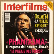 Cine: INTERFILMS N° 67 (1994). OSCAR '94 BELLE EPOQUE, PHANTASMA, ANTONIO BANDERAS, PENÉLOPE CRUZ,.... Lote 245611070