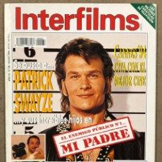 Cine: INTERFILMS N° 68 (1994). PATRICK SWAYZE, JOSÉ LUIS GARCI, WES STUDI, MATTHEW BRODERICK,.... Lote 245611500