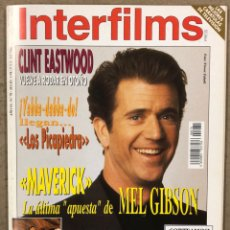 Cine: INTERFILMS N° 70 (1994). CLINT EASTWOOD, MEÑ GIBSON, EMMA THOMPSON, HENRY MANCINI, PAUL HOGAN. Lote 245612310