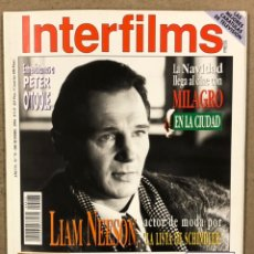 Cine: INTERFILMS N° 75 (1994). LIAM NESSON, PETER O'TOOLE, JAMES CORBUM, COQUE MALLA, BLADE RUNNER. Lote 245614310