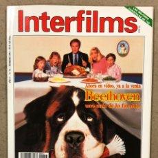 Cinema: INTERFILMS N° 53 (1993). MADONNA, STALLONE, JESSICA LANGE, WILLIAM WYLER, BRUCE WILLIS,.... Lote 245622260