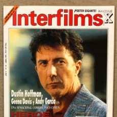 Cine: INTERFILMS N° 55 (1993). EL RETORNO DEL JEDI, SHARON STONE, POLANSKI, DUSTIN HOFFMAN, GEENA DAVIS. Lote 245623285