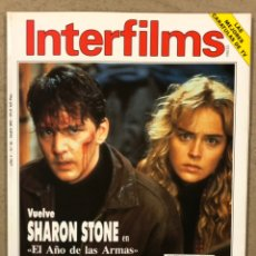 Cine: INTERFILMS N° 56 (1993). SHARON STONE, ROBERT REDFORD, DEMI MOORE, MARILYN MONROE, JACQUES. Lote 245624870