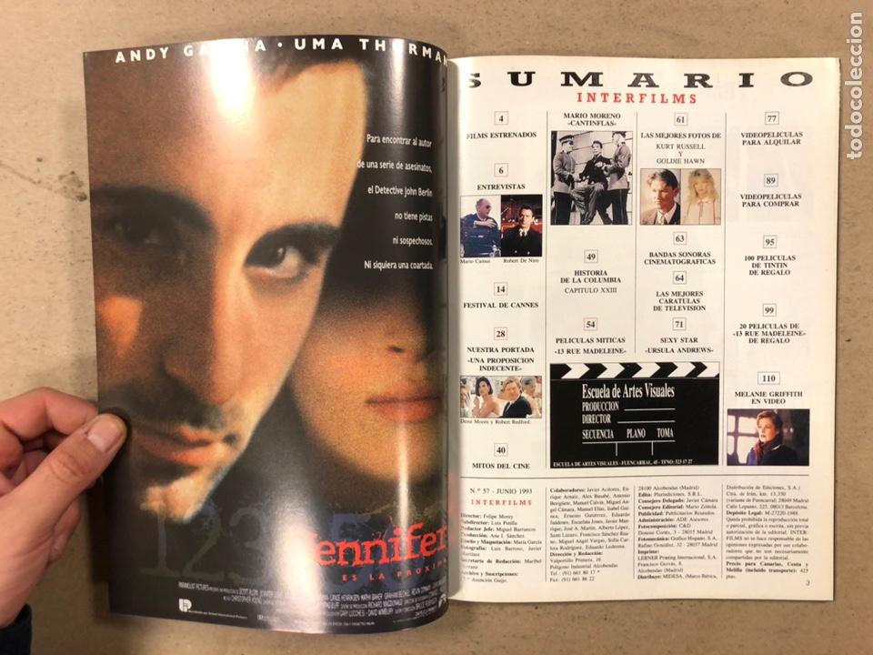 Cine: INTERFILMS N° 57 (1993). ROBERT REDFORD, DEMI MOORE, KURT RUSELL, GOLDIE HAWN, CANTINFLAS,... - Foto 2 - 245625360