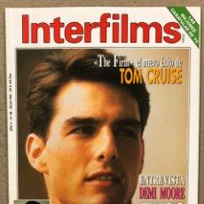 Cine: INTERFILMS N° 58 (1993). TOM CRUISE, DEMI MOORE, INCLUYE POSTER DE LAS TORTUGAS NINJA,.... Lote 245626085