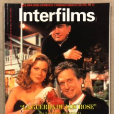 Cine: INTERFILMS N° 18 (1990). DAVID O. SELZNICK, MARILYN MONROE, CLARK GABLE, JOHN MORRIS,..... Lote 245630440