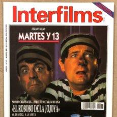 Cine: INTERFILMS N° 47 (1992). MARTES Y TRECE, MEL GIBSON, CHER, ELVIS PRESLEY, GEORGES LUCAS,.... Lote 245633340
