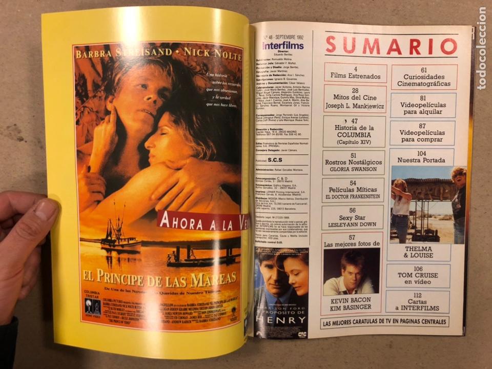 Cine: INTERFILMS N° 48 (1992). SUSAN SARANDON, GEENA DAVIS, KIM BASINGER, TOM CRUISE, BIGAS LUNA,... - Foto 2 - 245633665