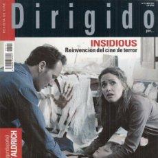 Cine: REVISTA DIRIGIDO POR Nº 411 AÑO 2011. ROBERT ALDRICH. GEORGES FRANJU. INSIDIUS.. Lote 245757510
