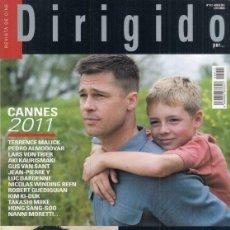 Cine: REVISTA DIRIGIDO POR Nº 412 AÑO 2011. DOSSIER ESPECIAL EL GIALLO. CANNES. EL CASTOR. NICHOLAS RAY.. Lote 245758590