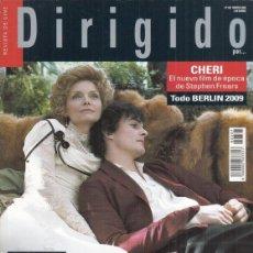 Cine: REVISTA DIRIGIDO POR Nº 381 AÑO 2009. ANDREDE TOTH. EL VUELO DEL GLOBO ROJO. LUIS BUÑUEL. CHERI.. Lote 245758775