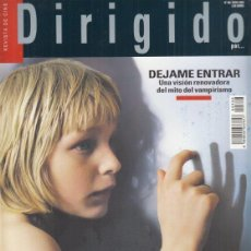 Cinema: REVISTA DIRIGIDO POR Nº 388 AÑO 2009. DOSSIER CARL TH. DREYER. DEJAME ENTRAR. ANDRE DE TOTH.. Lote 245758860