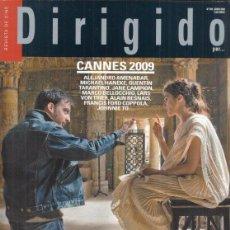 Cine: REVISTA DIRIGIDO POR Nº 390 AÑO 2009. DOSSIER FELLINI. CANNES. STILL WALKING. PAGAFANTAS.. Lote 245758970