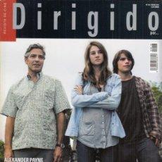 Cine: REVISTA DIRIGIDO POR Nº 418 AÑO 2012. DOSSIER PERLAS DEL CINE NEGRO.LOS DESCENDIENTES.. Lote 245760330