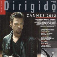 Cine: REVISTA DIRIGIDO POT Nº 423 AÑO 2012. DOSSIER CINE DE PROPAGANDA POLÍTICA (1). CANNES.RED STATE.. Lote 245760755