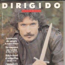 Cine: REVISTA DIRIGIDO POR Nº 192 AÑO 1991. ROBIN HOOD EL MÁGNIFICO. CANNES. JURAMENTO DE SANGRE.. Lote 245761605