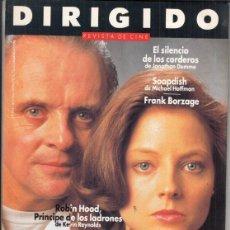 Cine: REVISTA DIRIGIDO POR Nº 193 AÑO 1991EL SILENCIO DE LOS CORDEROS. SOAPDISH. FRANK BORZAGE.. Lote 245761760