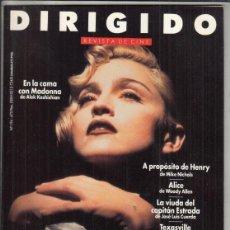 Cine: REVISTA DIRIGIDO POR Nº 194 AÑO 1991. EN LA CAMA CON MADONNA. MEL BROOKS. PETER BOGDANOVICH.. Lote 245762040