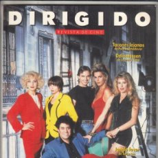 Cine: REVISTA DIRIGIDO POR Nº 195 AÑO 1991. TACONES LEJANOS DE PEDRO ALMODÓVAR. ISTVÁN SZABÓ.. Lote 245762295
