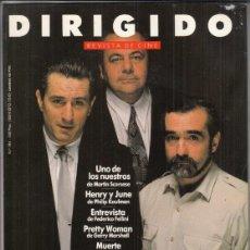 Cine: REVISTA DIRIGIDO POR Nº 184 AÑO 1990. FEDERICO PELLINI. UNO DE LOS NUESTROS. VENCEIA.. Lote 245764395