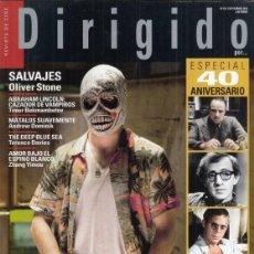Cine: REVISTA DIRIGIDO POR Nº 425 AÑO 2012. ESPECIAL 40 ANIVERSARIO. SALVAJES. EL CABALLERO OSCURO.. Lote 245764900