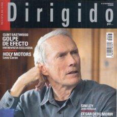 Cine: REVISTA DIRIGIDO POR Nº 427 AÑO 2012. DOSSIER (2º) 007 50 ANIVERSARIO. CLINT EASTWOOD. HOLY MOTORS.. Lote 245983530