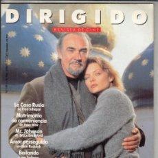 Cine: REVISTA DIRIGIDO POT Nº 189 AÑO 1991. BARBET SCHROEDER. VIENTE ARANDA. AMOR PERSEGUIDO. CASA RUSIA.. Lote 245984660