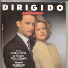 Cine: REVISTA DIRIGIDO POR Nº 190 AÑO 1991. ESTUDIO BRIAN DE PALMA. TIM BURTON. ROBOCOP 2. THE DOORS.. Lote 245986875