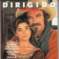 Cine: REVSITA DIRIGIDO POR Nº 191 AÑO 1991. DOSSIER EL WESTERN CINE POLICIACO CINE FANTASTICO. EL PRADO.. Lote 245987375