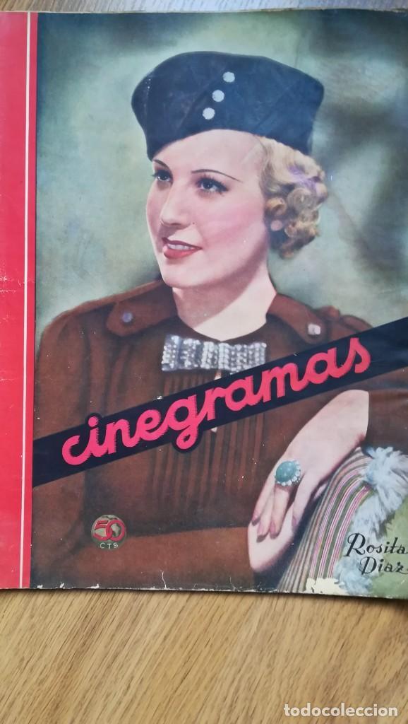 Cine: 12 números Revista Cinegramas - Foto 4 - 246103380