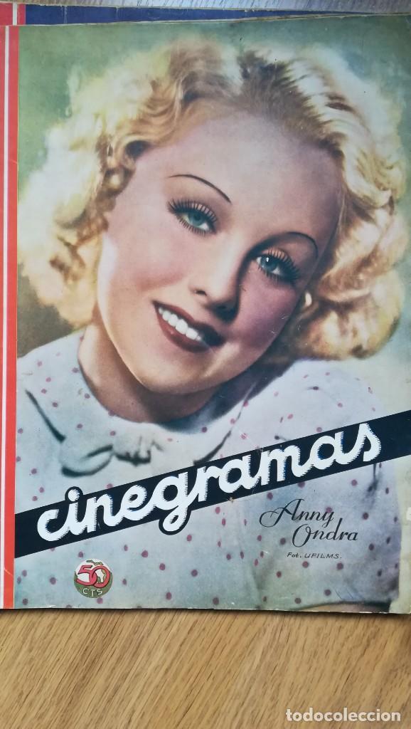 Cine: 12 números Revista Cinegramas - Foto 6 - 246103380