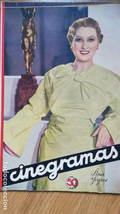 Cine: 12 números Revista Cinegramas - Foto 8 - 246103380