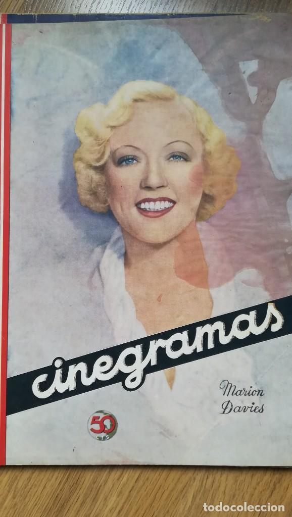 Cine: 12 números Revista Cinegramas - Foto 10 - 246103380