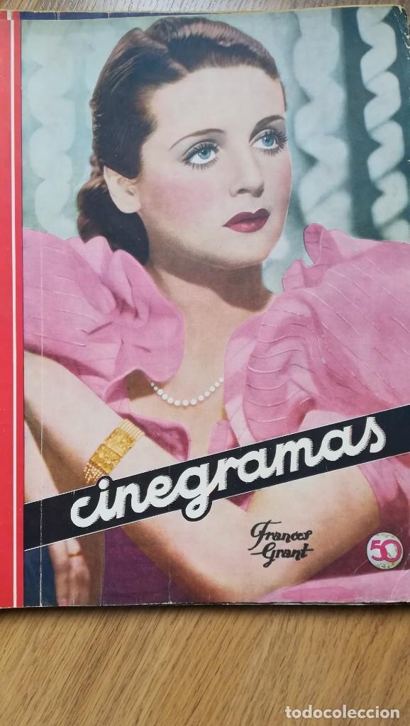 Cine: 12 números Revista Cinegramas - Foto 16 - 246103380